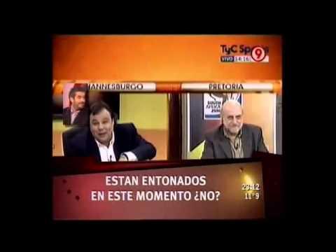Los Mejores Momentos de Horacio Pagani Parte 2 (En el Mundial 2010)