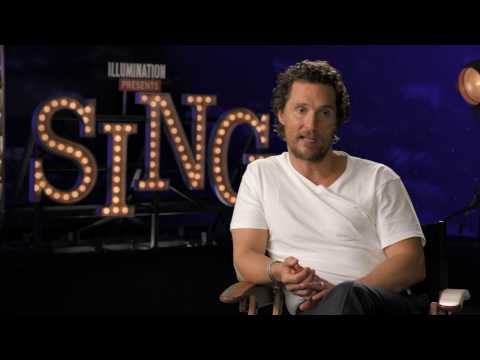 "Sing ""Buster Moon"" Matthew McConaughey Interview"