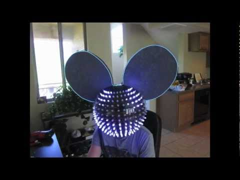 RGB LED Mouse Head from Jeffrey Nappi for deadmau5 using MADRIX start