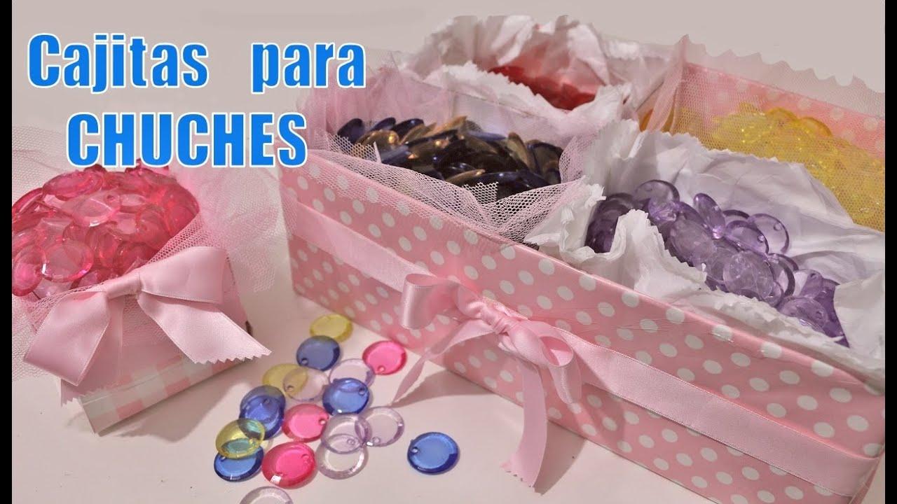 Cajitas para chuches ideas de mesa dulce youtube - Ideas para decorar mesas de chuches ...