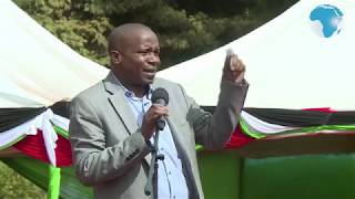 Kithure Kindiki urges DP Ruto to continue with the 2022 campaigns