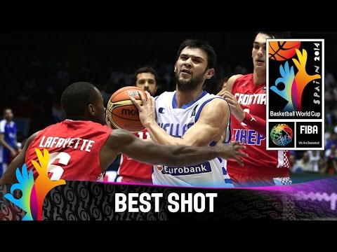 Greece v Croatia - Best Shot - 2014 FIBA Basketball World Cup