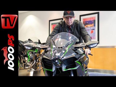 Kawasaki Ninja H2 / H2 R   Infos zu Probefahrten, Fahrverhalten, Preis