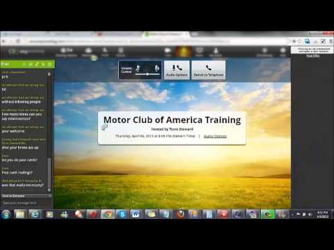 Motor Club of America Training - MCA Academy Network Relationship Building