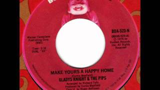 Watch Gladys Knight  The Pips Make Yours A Happy Home video