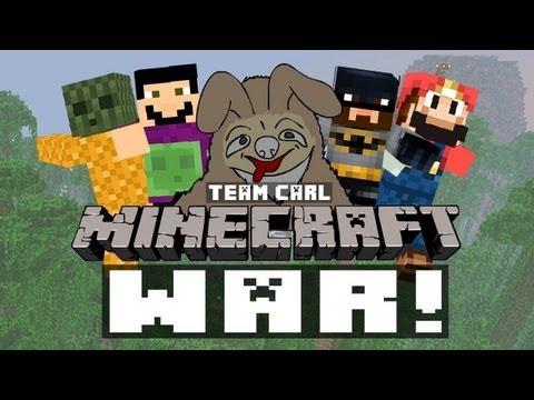 The Creatures Minecraft War Team Carl's P.O.V. (500k Subs Special!)