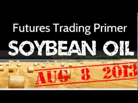 Aug 2013 Soybean Oil Price Review.  Daily Prices Trending Down - Trading Trading Journal