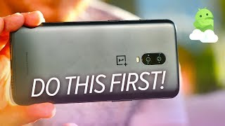 OnePlus 6T: First 6 Things To Do After Unboxing!