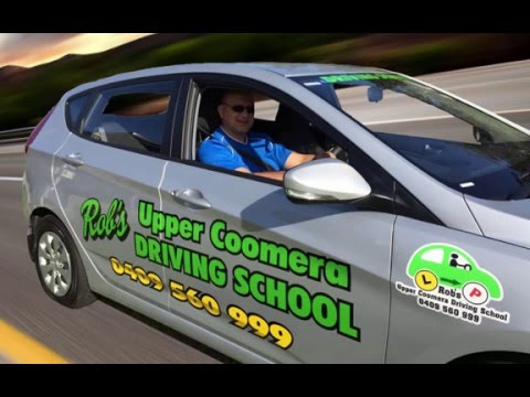 'Rob's Upper Coomera Driving School' Commercial