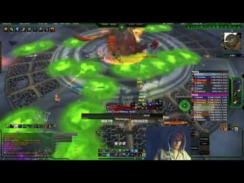 Fuzzy Tentacle Vs Ji'kun 10man Heroic! Hunter Pov! video