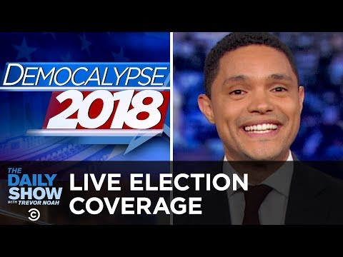 LIVE Midterm Election Coverage - The Dems Take the House   The Daily Show