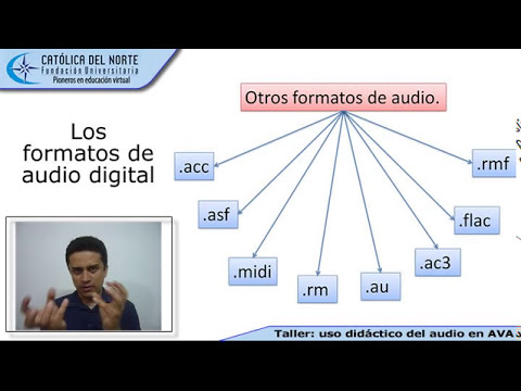 Los formatos de audio