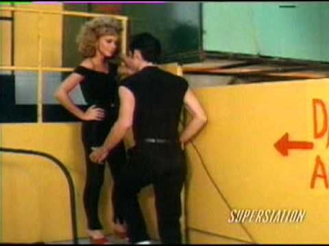 greace - olivia newton and jhon travolta.