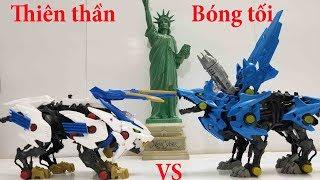 Zoids đồ chơi Thú Vương Đại Chiến Wild liger zw 01 vs Wolf Hunter zw 16
