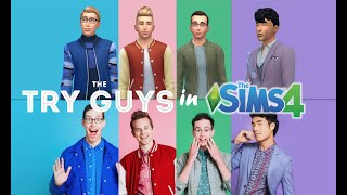 MAKING THE TRY GUYS IN THE SIMS 4