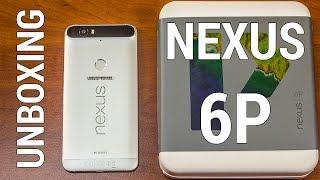 Huawei Nexus 6P распаковка. UNBOXING и предварительный обзор Nexus 6P от FERUMM.COM