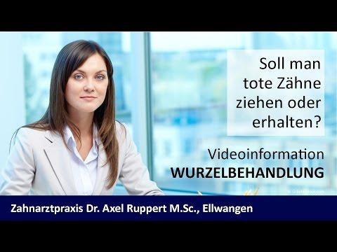 Wurzelbehandlung Zahnarzt Ellwangen - Dr. Axel Ruppert M.Sc.