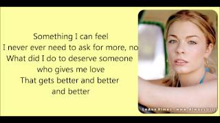 Watch Leann Rimes Something I Can Feel video