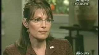 Sarah Palin ABC Interview With Charlie Gibson Part 1