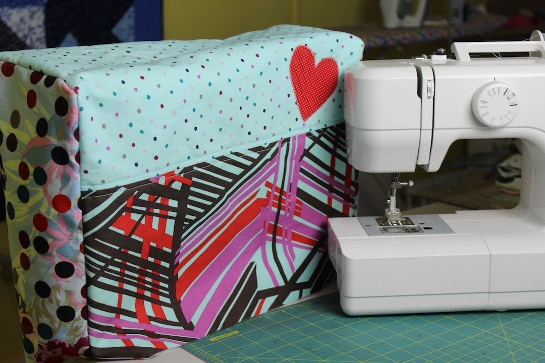 Book Cover Sewing Machines : How to make a sewing machine cover youtube