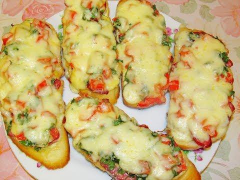 Бутерброды рецепты быстро и просто