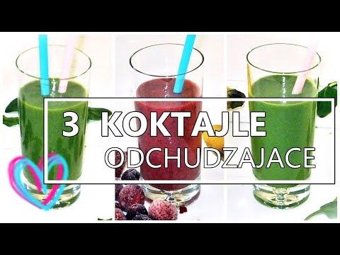 SUPER 3 Koktajle Na Odchudzanie I Zdrowie! PYCHA!