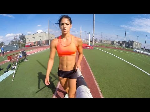 Ever wonder what it's like when an pole vaulter straps a GoPro to her pole? This may be r/hailcorporate territorty, but still fun: Pole Vaulting with the intriguing Rio aspirant Allison Stokke