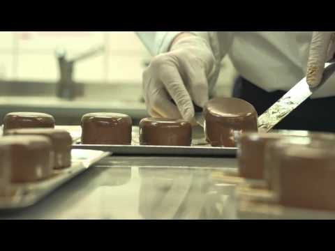 Fazer Confectioner competing in the World Chocolate Masters