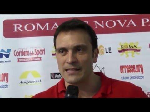 Pallanuoto: Interviste Roma Vis Nova - Pro Recco