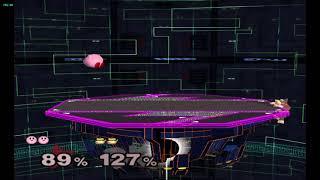 Super Smash Bros. Melee (Kirby vs Donkey Kong)