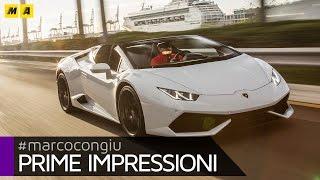 Lamborghini Huracan Spyder | Primo Test [ENGLISH SUB]