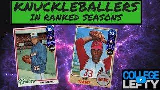 FACING DIAMOND PHIL NIEKRO AND LUIS TIANT!! MLB THE SHOW 18!