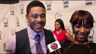 Pooch Hall & Gabrielle Dennis (BET's The Game) - Studio Q TV