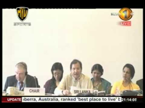 News1st UN Human Rights Committee review of Sri Lanka's record taken up