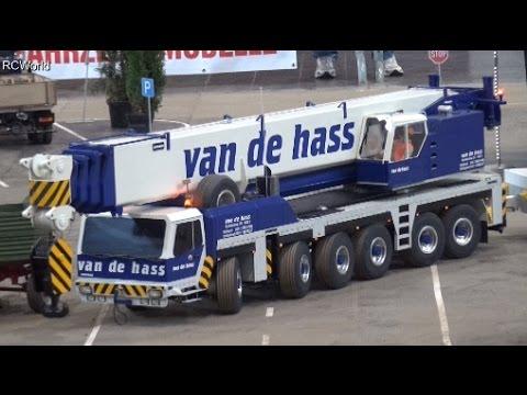 RC Liebherr All Terrain Mobile Crane Autokran ♦ Modell Hobby Spiel Leipzig 2015 Modellbaumesse