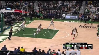 3rd Quarter, One Box Video: Milwaukee Bucks vs. Boston Celtics