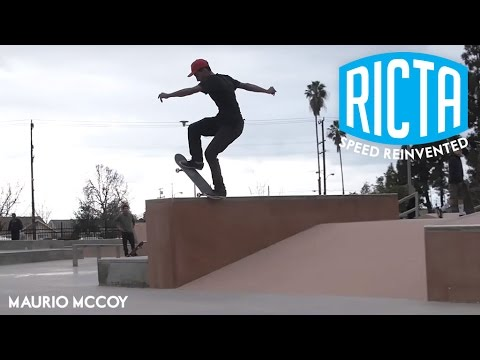Maurio McCoy funks up Rosemead Skatepark