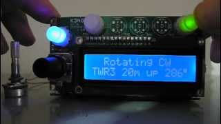 Arduino rotator interface unit