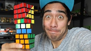 ZACH KING Rubik's Amazing Cube illusions 2018, Magic Trick and ZACH KING Show Today Video