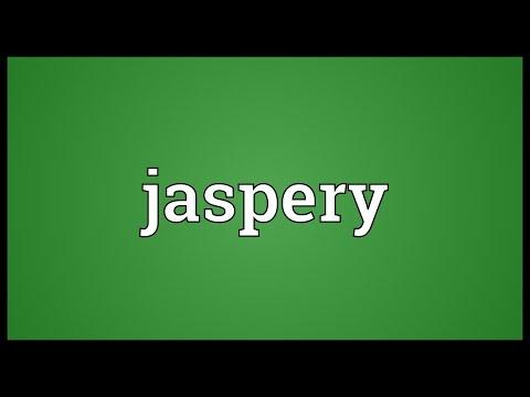 Header of jaspery