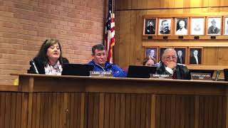 Another special school board meeting