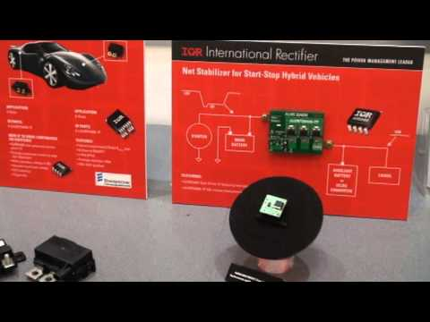 International Rectifier explains their latest COOLiR FET technology at PCIM 2013