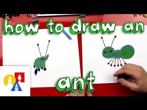 How To Draw An Ant (Young Artists)