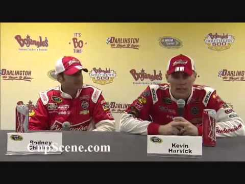 NASCAR at Darlington April 2014: Kevin Harvick Post Race