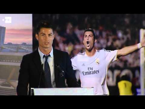 Real Madrid's Ronaldo suffers hamstring injury
