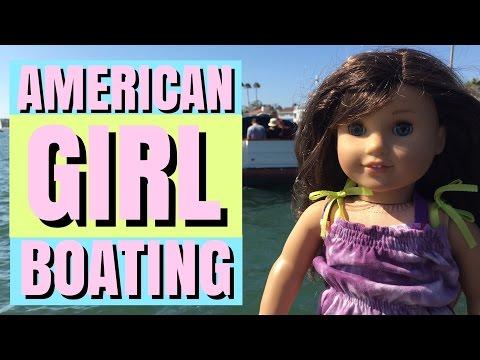 American Girl Doll Boat Trip