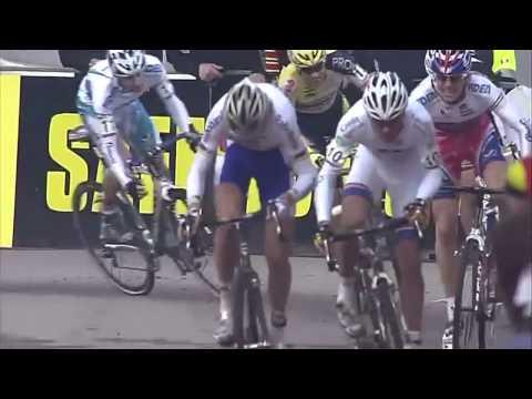 Sven Nys wint in de sprint van Lars Boom-WB manche Milaan (HD)
