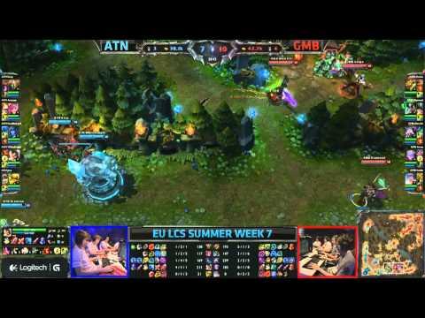 Gambit Gaming (GMB) vs Alternate (ATN) jungle Karma vs Vi || EU LCS Summer 2013 W7D2 || Full Game HD