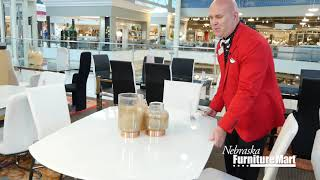 Easy Dining Room Conversion Options at Nebraska Furniture Mart