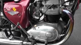1970 BSA Lightning 650 Motorcycle